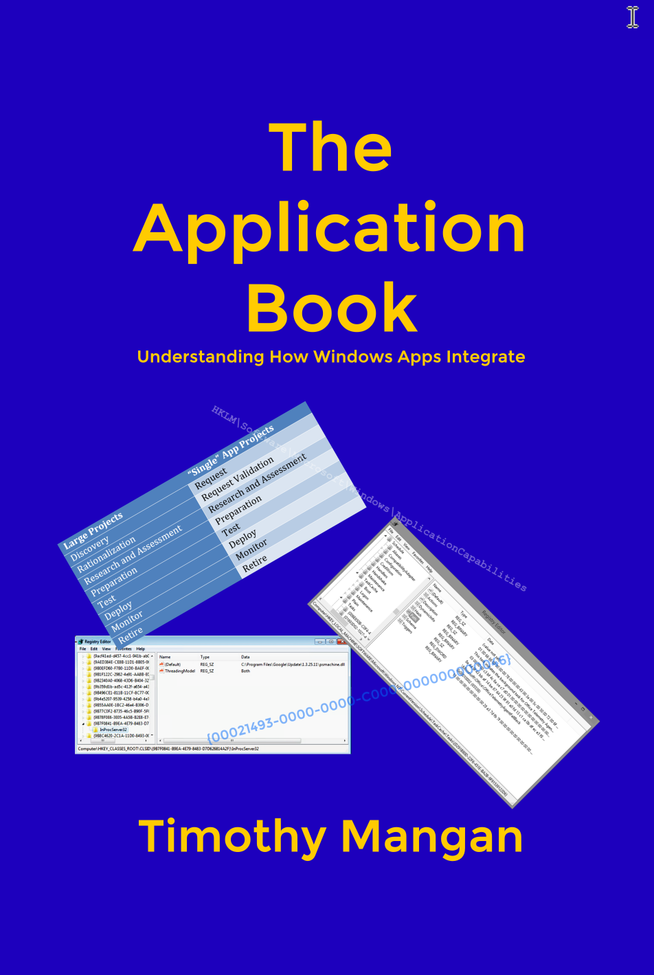 The Application Book front cover