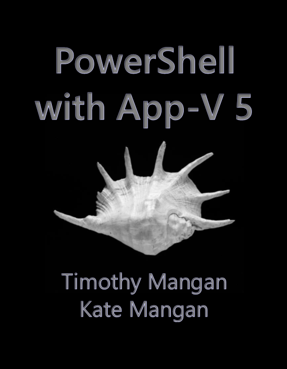 image of PowerShell with App-V 5 Book