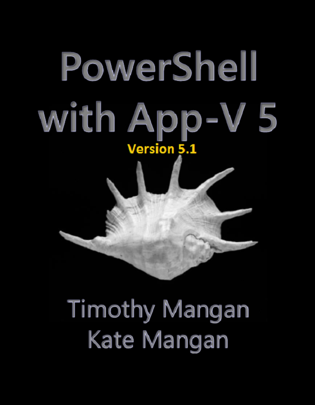 PowerShell with App-v 5 Front cover