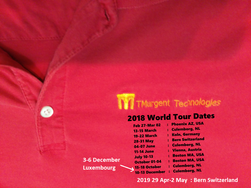 2018 world tour shirt