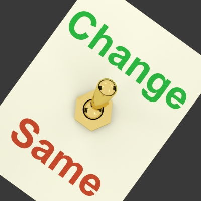 Photo about change
