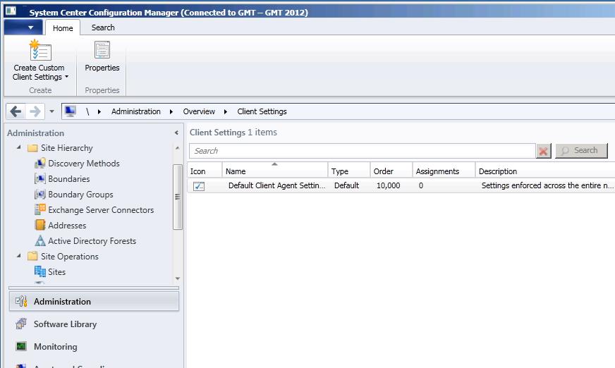 SCCM 2012 Beta 2 Management Console UI