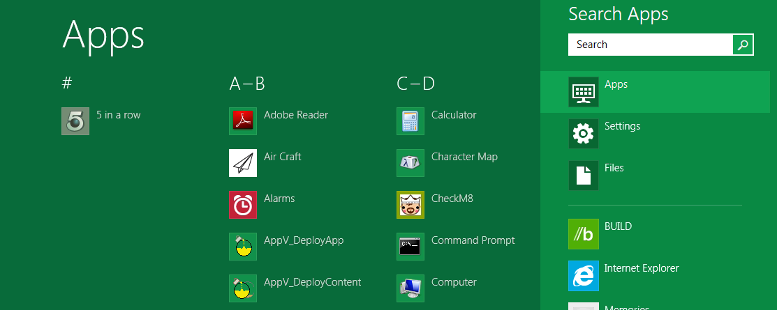 Windows 8 Applications