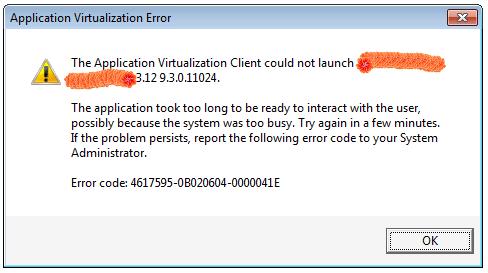 App-V Error dialog 04-000041E